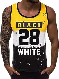 Mens Skull Print Stringer Bodybuilding Gym Tank Tops Workout Fitness Quick-Dry Vest 2019 Men Summer Shirts Deals