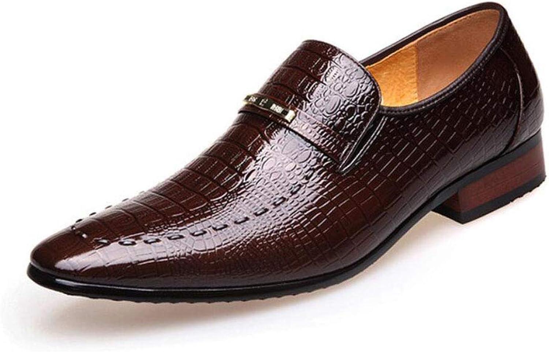Men's Lok Fu shoes, British Pointed shoes, Bright shoes, Fish shoes, Men's shoes