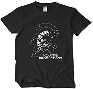 Danielrio Fashion Cool Kojima Production Metal Gear Solid T-Shirt for Men&Youth Black