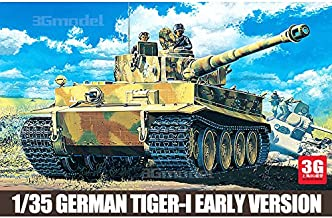 Academy model 13239 World War II, the United States and Germany in the early-type full configuration Tiger