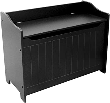 Catskill Craftsmen Black Storage Chest/Bench