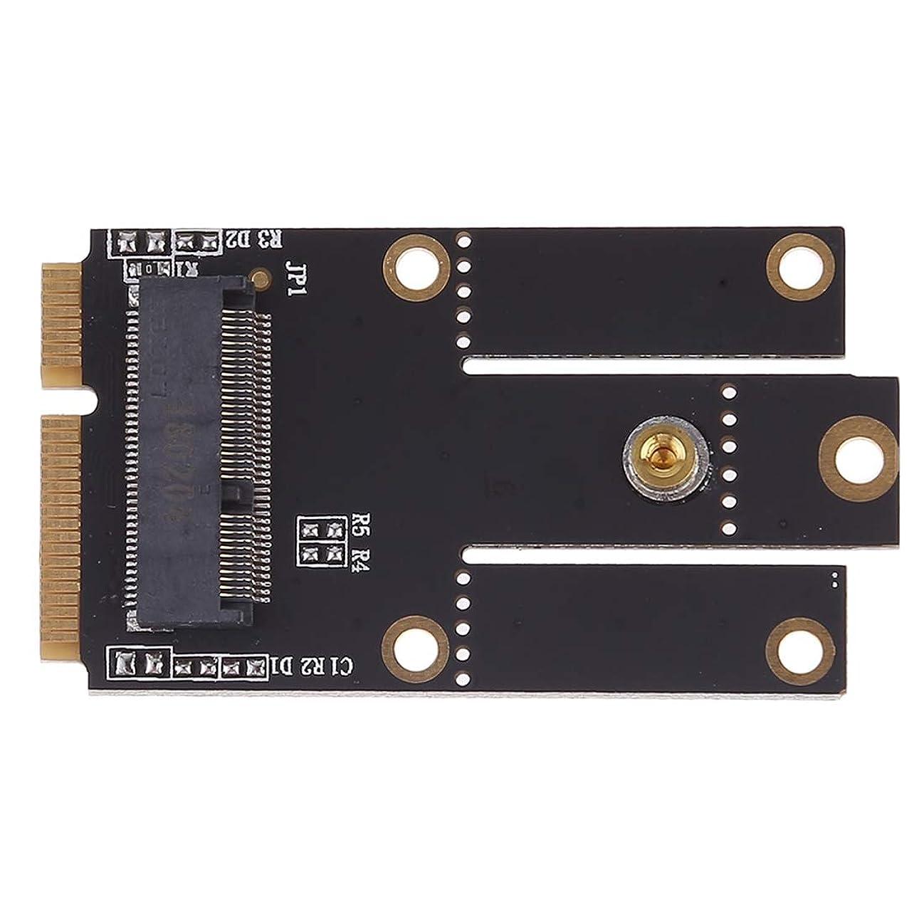 WTYDコンピューターアクセサリー Intel 9260 8265 7260 AC NGFF Wifi Bluetoothワイヤレスカード用ミニPCI-E PCI Express変換アダプタへのM.2 NGFFキーA コンピューターに使用