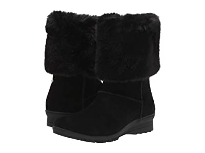 Taryn Rose Erica (Black Suede) Women