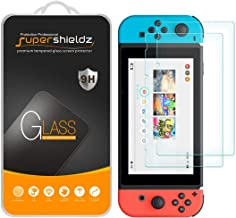 (2 Pack) Supershieldz for Nintendo Switch Tempered Glass Screen Protector, 0.33mm, Anti Scratch, Bubble Free