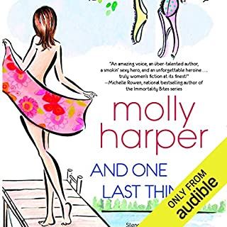 And One Last Thing...                   Written by:                                                                                                                                 Molly Harper                               Narrated by:                                                                                                                                 Amanda Ronconi                      Length: 8 hrs and 23 mins     16 ratings     Overall 4.3