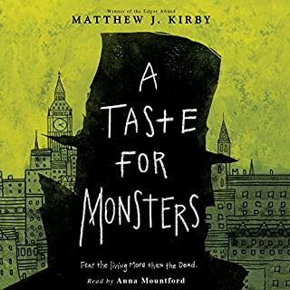 A Taste for Monsters audiobook cover art
