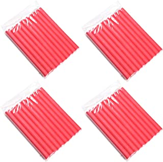 4 Pack Twist Foam Hair Rollers Bendy Foam Flexible Curling Rods- Hair Curlers Rollers Diamerter 2.0cm for Short, Medium an...