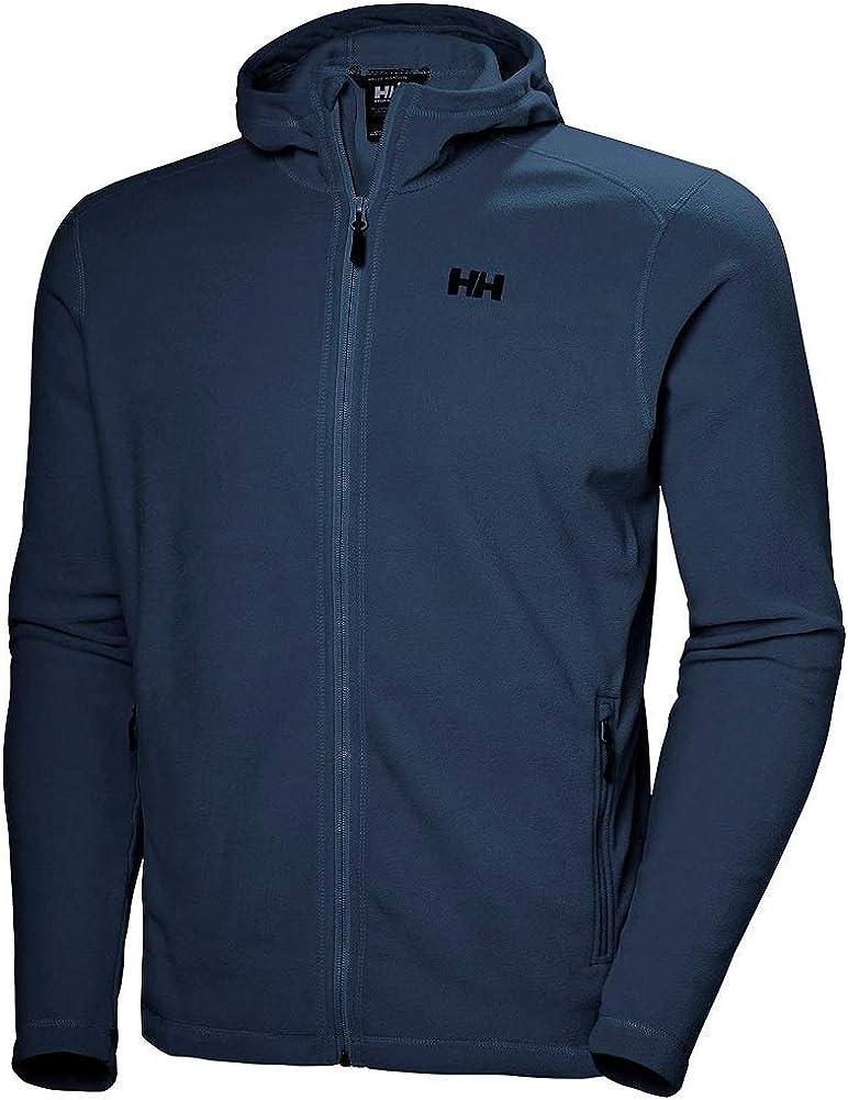 Helly-Hansen Men's Daybreaker Jacke Lightweight Hooded Full-Zip Fleece Jacket