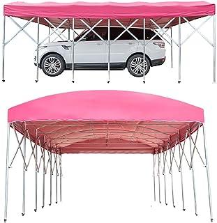 ZDYLM-Y Tente résistante imperméable de Partie d'auvent de Voiture de carport, Gazebo portatif de Garage, Facile à Mettre ...