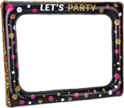 Springcorner Inflatable Photo Frame, Inflatable Picture Frame Inflatable Selfie Frame Inflatable Photo Booth Props Ideal for Birthday Party Decoration
