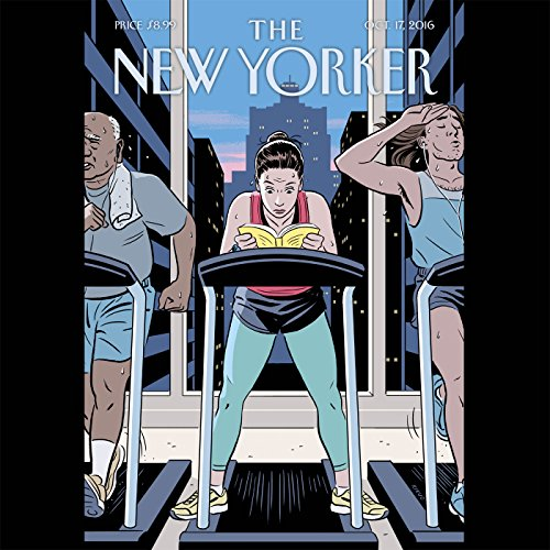 The New Yorker, October 17th 2016 (David Remnick, Ryan Lizza, Amy Davidson) audiobook cover art