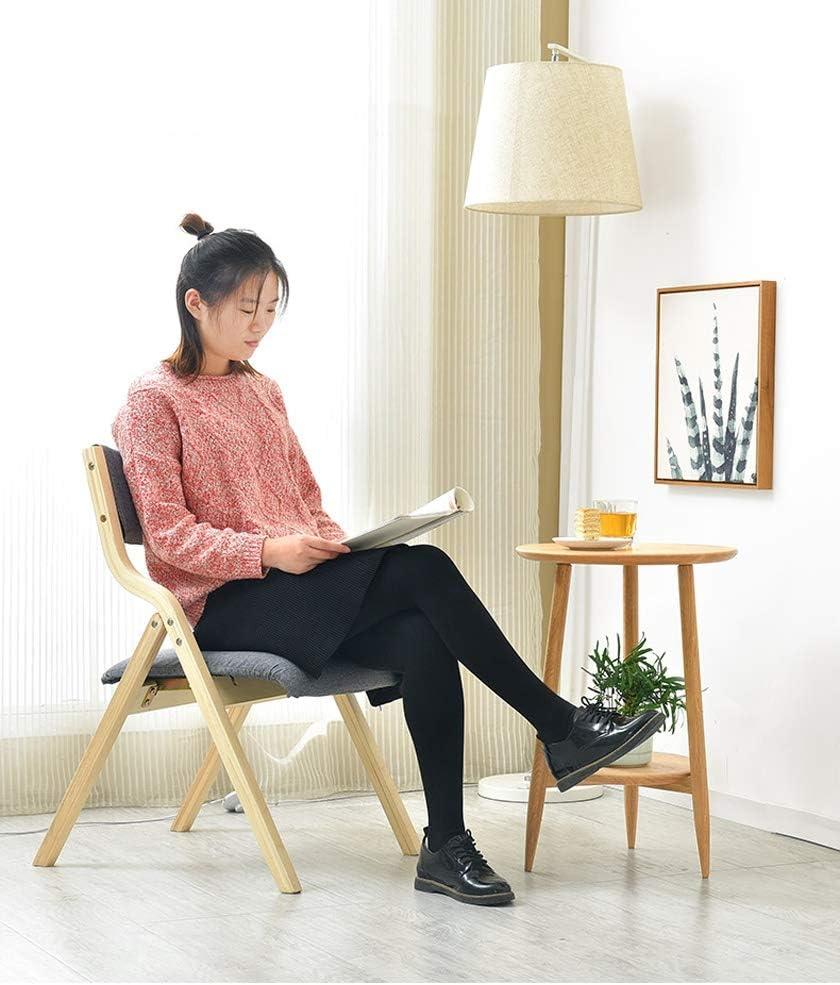 Chaise salle à manger, chambre à coucher Accueil Ordinateur Chaise pliante Petit déjeuner Cuisine Chaise Linge Coussin Bureau Réunion Comptoir Chaise haute (Color : Blue) Blue