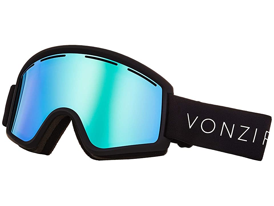 VonZipper Cleaver Goggle (Black Satin/Wild Stellar Chrome) Snow Goggles
