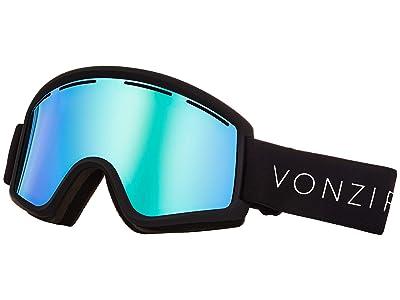 VonZipper Cleaver Goggle (Black Satin/Wild Stellar Chrome) Snow Goggles