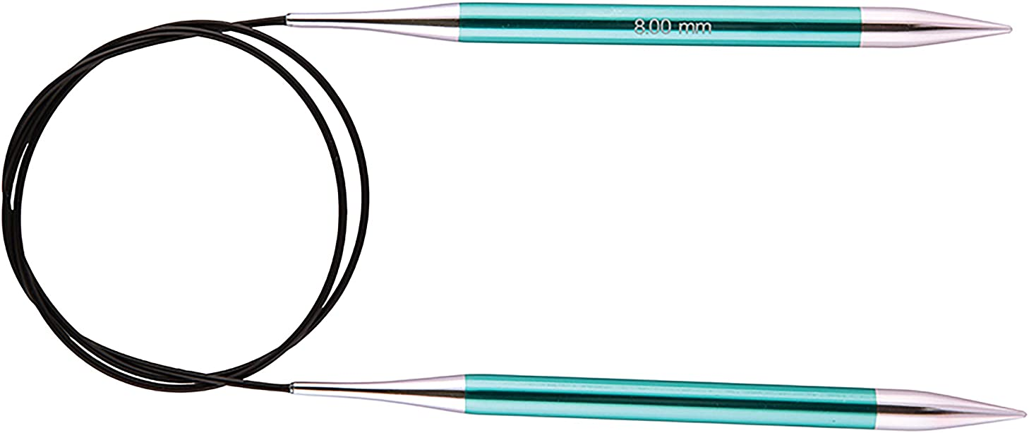 Knitter's Pride KP140401 Zing Fixed Circular Needles 9