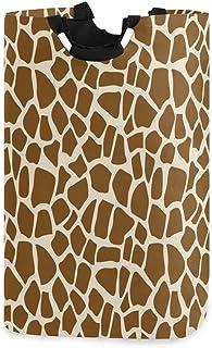 N\A Girafe Peau Texture Panier à Linge Panier à vêtements Pliable Durable vêtements Sales Grand Rangement Organisateur de ...
