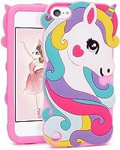 FunTeens Vivid Unicorn Case for iPod Touch 6th 5th Generation 3D Cartoon Animal Cute Soft..