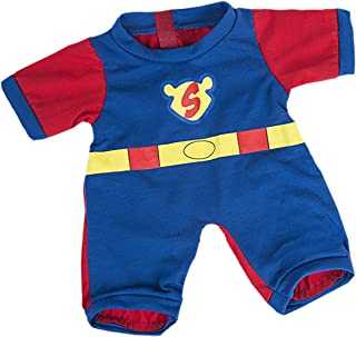 Superbear PJ Outfit Teddy Bear Clothes Outfit Fits Most 14