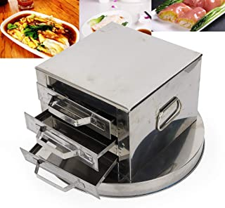 3 Layer Stainless Steel Steamer Spare Drawer Cooker Set Food Steaming Machine