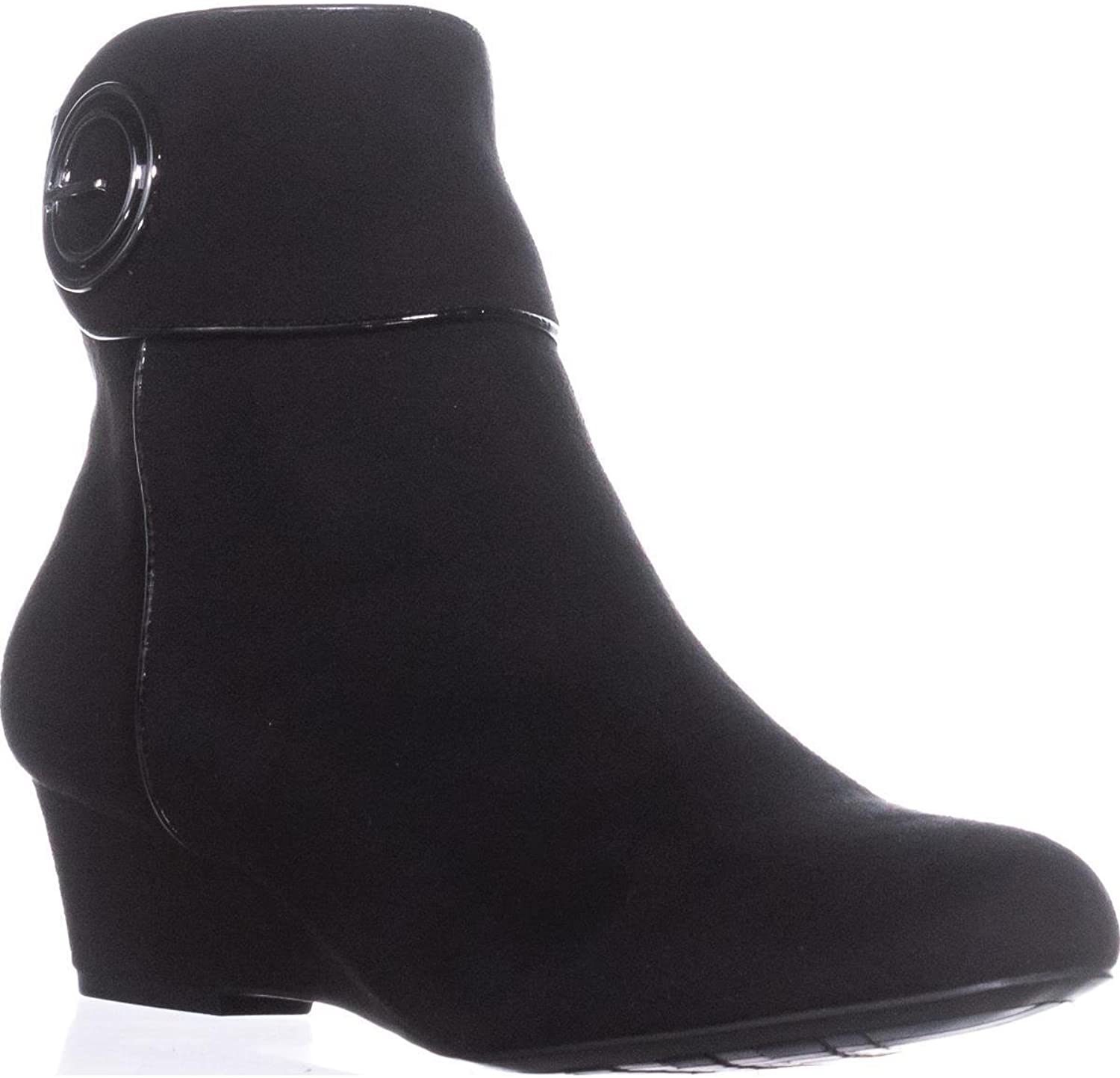 Impo Womens Goya Faux Suede Ankle Booties