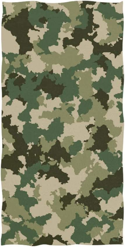 Diavy Sales Camouflage Hand Towel Yoga Gym Cotton Face Abso Now free shipping Towels Spa