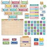 Creative Teaching Press Upcycle Style Calendar Set...