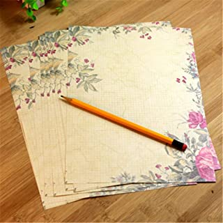 10pcs Vintage Office Message Writing Paper Letter Set European Country Style Love Envelope Letter Paper School Stationery ...