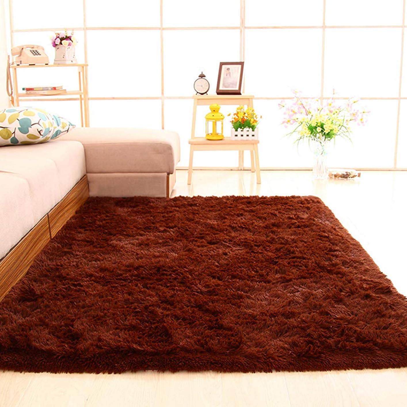 上昇まっすぐ電気のGXH- 家の装飾のために適した1.4mx2m長方形のカーペット柔らかくふわふわ、安全で環境に優しいベッドサイドの敷物、