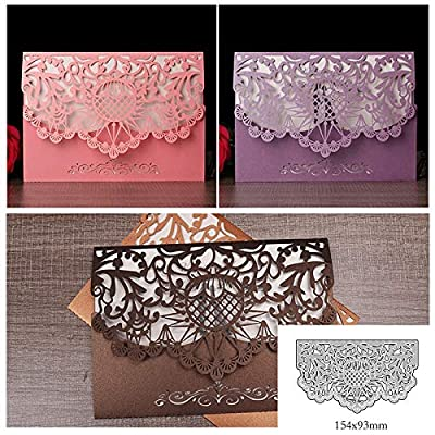Cutting Die Scrapbooking Craft Metal Cut for DIY Paper Cards Making Valentine's Day Wedding Decorative Greeting Card
