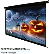 """Akia Screens 110"""" Motorized Electric Projector Screen 16:9 8K 4K Ultra HD 3D Ready Wall/Ceiling Mounted with 12V Trigger Remote 8K 4K Ultra HD 3D Ready for Home Movie Theater AK-MOTORIZE110H1"""