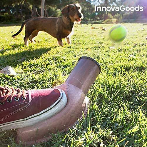 InnovaGoods IG813826 Lanzador de Pelotas para Perros Playdog, Marrón