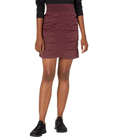XCVI Wearables Solid Trace Skirt