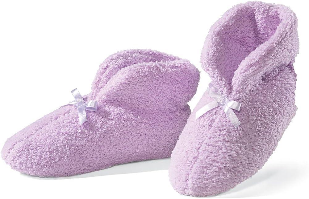 Ultra Plush Chenille Slippers, Blue