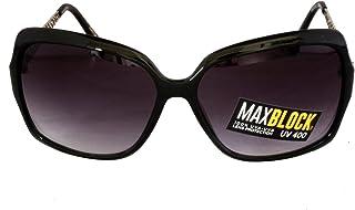 62f395f0a5 Foster Grant GIGI BLK FG63 Gafas de sol de estilo cuadrado de las mujeres  Negro Marco