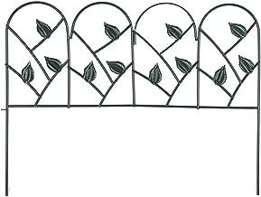 Mr.Garden Edging Fence Decorative Garden Barrier Panels 30