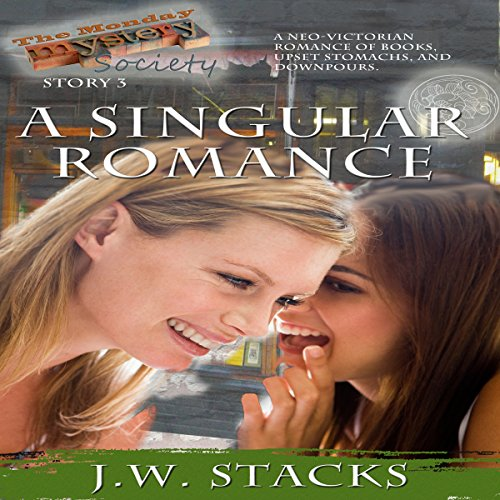 A Singular Romance audiobook cover art