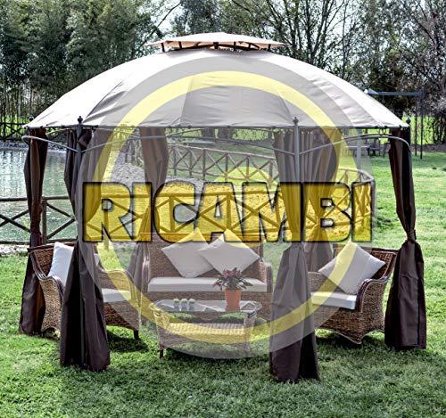HOMEGARDEN Ricambio Set Laterali per Gazebo Gotic