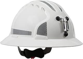 JSP 280-EV6161MCR2-10 Evolution Deluxe 6161 Full Brim Mining Hard Hat with CR2 Reflective Kit