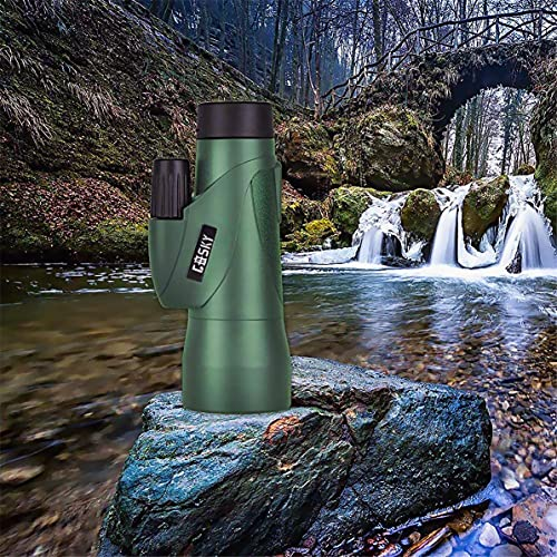 Gosky 12x55 High Definition Monocular and Quick Smartphone Holder - Newest Waterproof Telescope-BAK4 Prism for Bird Watching Camping Traveling