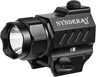 SyndeRay G01 CREE LED Tactical Gun Flashlight 2-Mode 230LM Pistol Handgun Torch Light for Hiking,Camping,Hunting and Other...