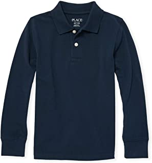 Boys' Long Sleeve Uniform Polo