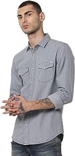 Jack & Jones Men's Slim fit Casual Shirt