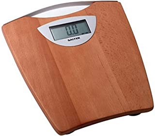 Salter 964 Electronic Bathroom Scale with Wooden Platform