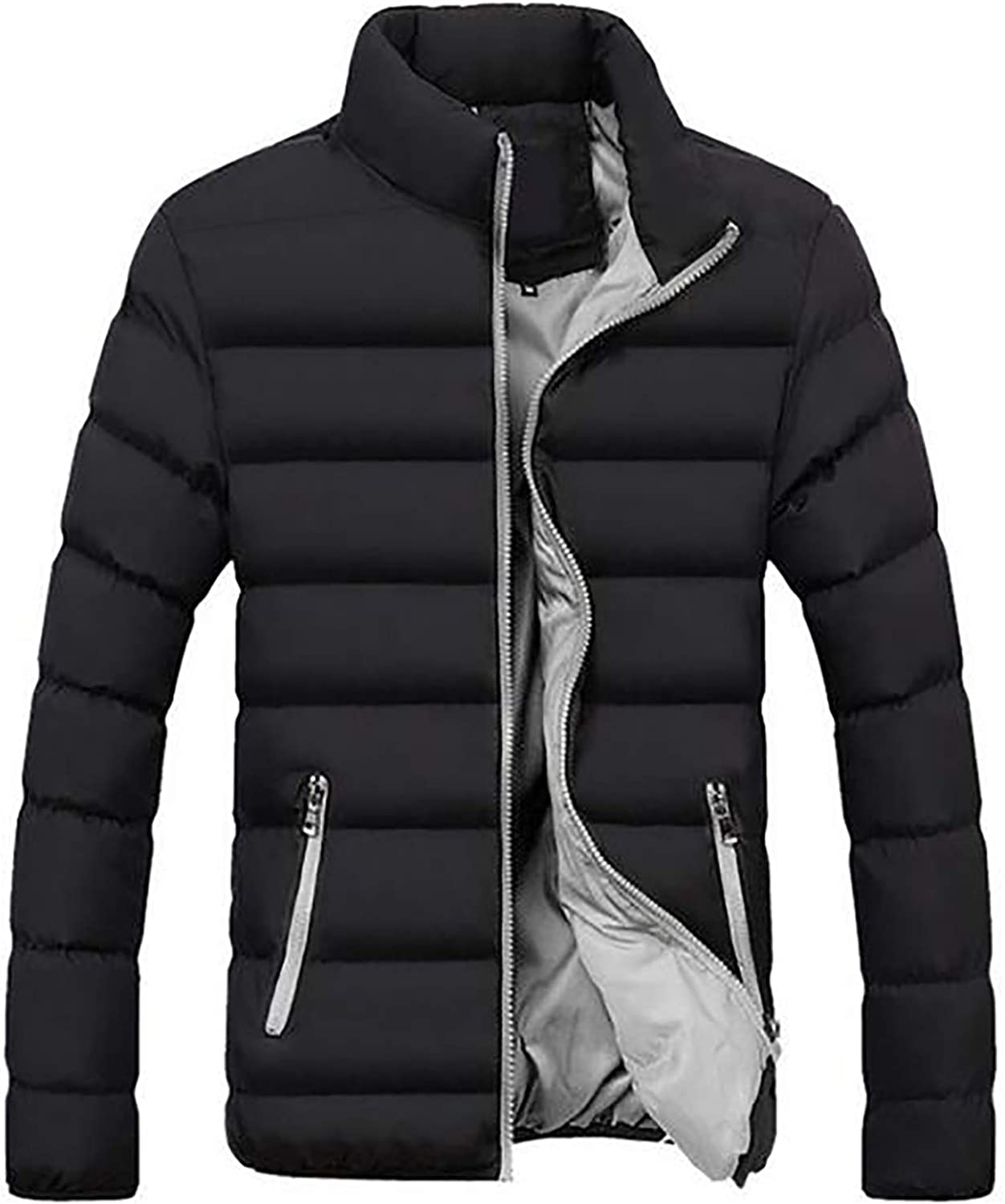 2276dc2a9 Ivan Johns Coats Winter Winter Winter New Men Jacket, Pure color ...