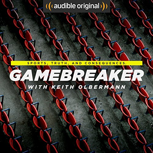 Gamebreaker with Keith Olbermann audiobook cover art