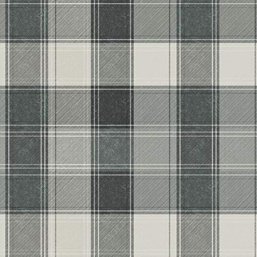 Arthouse 906703 - Papel pintado, diseño de cuadros, color gris
