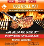 <span class='highlight'>BBQ</span> <span class='highlight'><span class='highlight'>Grill</span></span> <span class='highlight'><span class='highlight'>Mat</span></span> <span class='highlight'>Set</span> of 2 <span class='highlight'><span class='highlight'>Mat</span></span>s As Seen On TV A Miracle Barbecue and Baking <span class='highlight'><span class='highlight'>Mat</span></span> Nonstick Accessory for Outdoor Barbecue and Camping Cut to Fit Reusable for Years and Easy to Wash Dishwasher Safe PFOA-Free