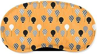 Party Balloons Orange - Sleeping Mask - Sleeping Mask