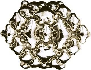 RING3-N Chrome Finish Ring - Liquid Metal by Sergio Gutierrez