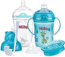 Nuby 6 Stage 360 Comfort Cup Starter Set